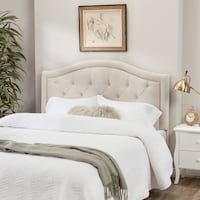 Queen/full size tufted headboard