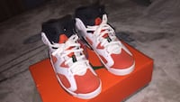 "Retro 6 ""Gatorade"" size 8 men 40 mi"