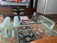 Quality Glass Coffee Table - Contemporary