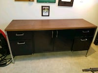 Steel and Wood Top Office Credenza Wasaga Beach, L9Z 1M4
