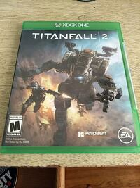 Titanfall 2 Xbox One game case Dover, 19904