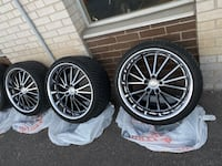 20 inch 4 rim and 4 new tires  Toronto