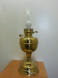 TALL BRASS Table Lamp  Mississauga, L5N 2X2