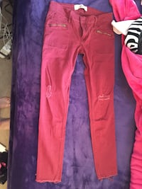 Hollister Red Jeans Calgary, T2Y 2W4