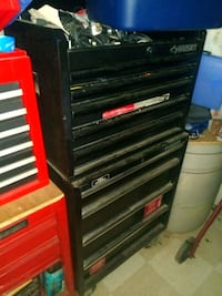 black and red tool chest Muscoy, 92407