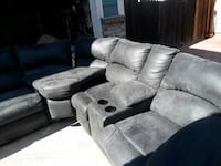Sectional couch Michael fiber