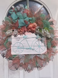 Deco Mesh Spring/Summer Wreath Inwood, 25428