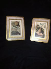 two brown wooden framed paintings Montréal, H8N 1R8