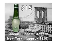 JACOB RUPPERT EXTRA BEER (NY Pre-prohibition bottle) - $15 (Bethesda) Bethesda, MD, USA