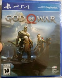 God of War brand new and sealed for PS4