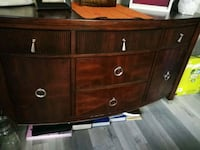Red wood cabinet West Kelowna, V1Z 3N6