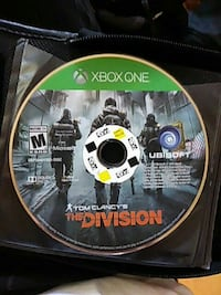 Tom Clancy's The Division Xbox One game disc