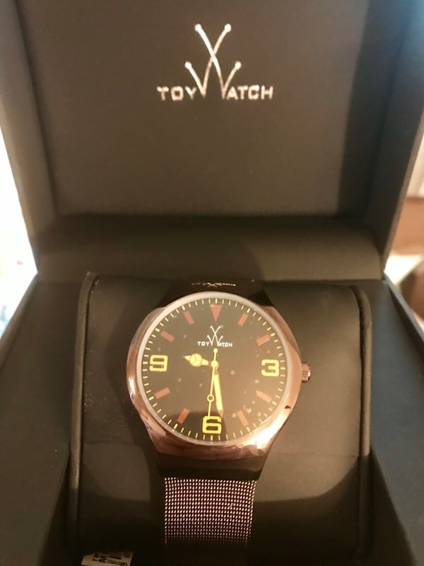 New ToyWatch Unisex Bronze Mesh 40mm Watch 2