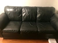 Full leather couch set Toronto, M5V 3Y5