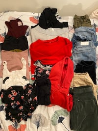 a pack of clothes (can sell individual pieces as well) Bergen, 5011