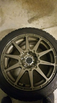 Method Rally Mr501/Bridgestone Blizzak WS80 Tires Ashburn, 20147