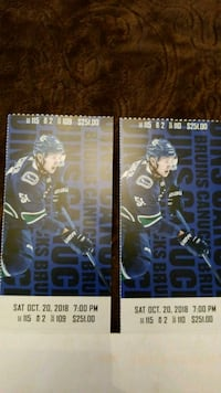 Bruins at canucks tickets Surrey, V3R 0S3