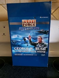 "Elite Force Aviator George W. Bush US President & Naval Aviator 12"" Fi Alexandria, 22306"