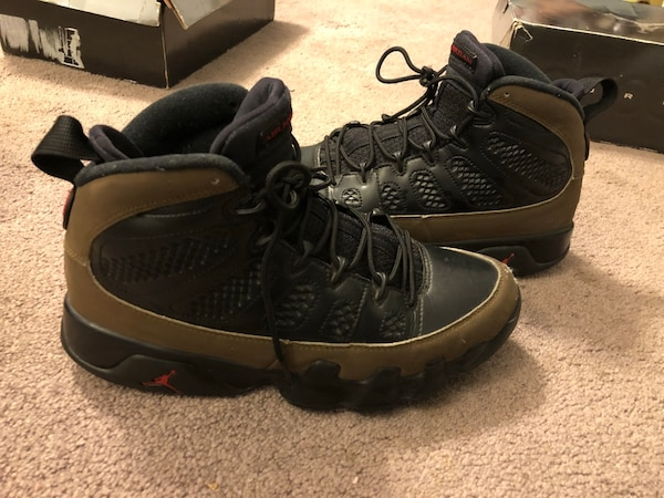 832f731d6550c3 Used Air Jordan 9 Retro Olive 2012 for sale in Marietta - letgo