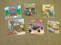 Cars and trains books Moline