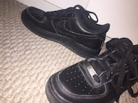 pair of black Nike low-top sneakers Calgary