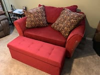 Loveseat and footrest Kensington, 20895