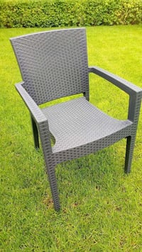 black wicker armchair Montreal, H2A 2P1