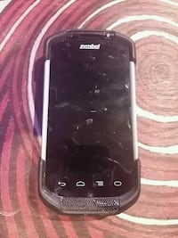 black Samsung Galaxy smartphone with white case Winnipeg, R2V 4E2