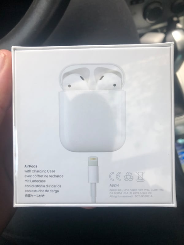 Sold Airpods 2nd Generation Brand New In Packaging In Kirkland