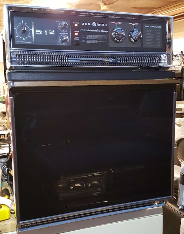 Used Ge P7 24 Inch Single Wall Oven With Self Clean For