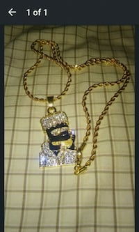 The Simpsons Gold Chain New York, 10032
