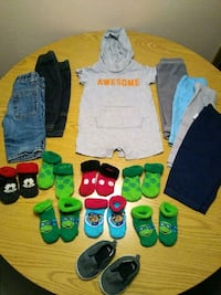 Newborn-6m boy clothes Las Vegas, 89130