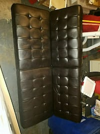 black leather futon El Paso, 79936