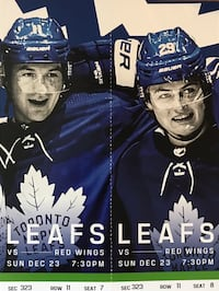 Maple Leafs v Detroit Red Wings Dec 23 Toronto, M5V