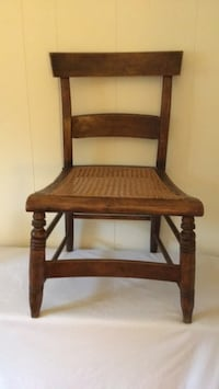 brown wooden framed padded chair Wappingers Falls, 12590