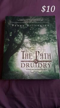 the path of druidry by penny billington Orillia, L3V 5B8