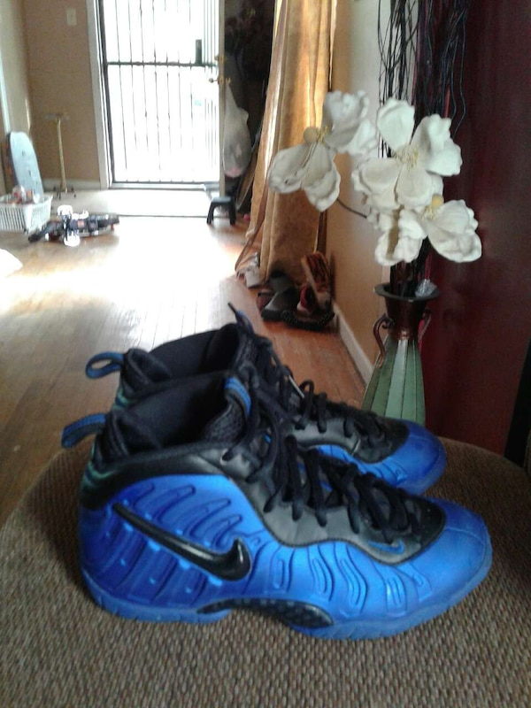 8123cb0f9 Used blue-and-black Nike Air Foamposite 1 for sale in Augusta - letgo