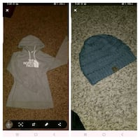 north face hoodie and cc beanie together  Coon Rapids, 55448