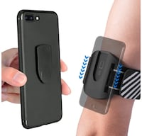 Sports Armband Moston Running Armband Slide-Lock/Unlock Cell Phone Armband for Hiking Cycling Walking Jogging Gym Workout Arm Band for iPhone Samsung LG Phones brandnew picking up New York, 11214