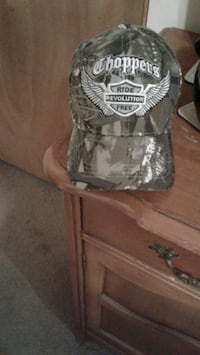 Choppers motorcycle camo hat brand new  Whiteford, 21160