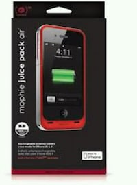 Mophie iPhone 4 4s juice pack air Fresno, 93706