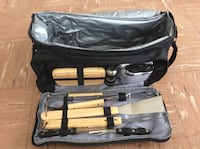 Brand new BBQ grill tool set with insulated cooler bag Chicago, 60615