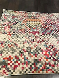 Brand new square area rug