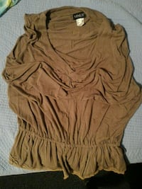 Venus brown scoop neck LG Toronto, M9A