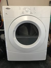 White whirlpool front-load clothes dryer Fayetteville