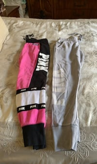 Set of two pink sweatpants. Look for more on my page. Firm price  Islip, 11751