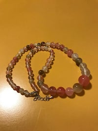 Colorful Round Graduated Beads Stone Necklace 列治文, V7A 3R5