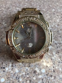 Gold watch with diamonds (Not Real) Bethesda, 20814