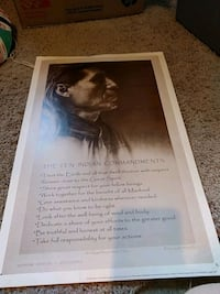Native American Poster 11x17 55 km
