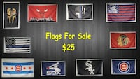 New Flags 3x5 For Sale Cicero, 60804